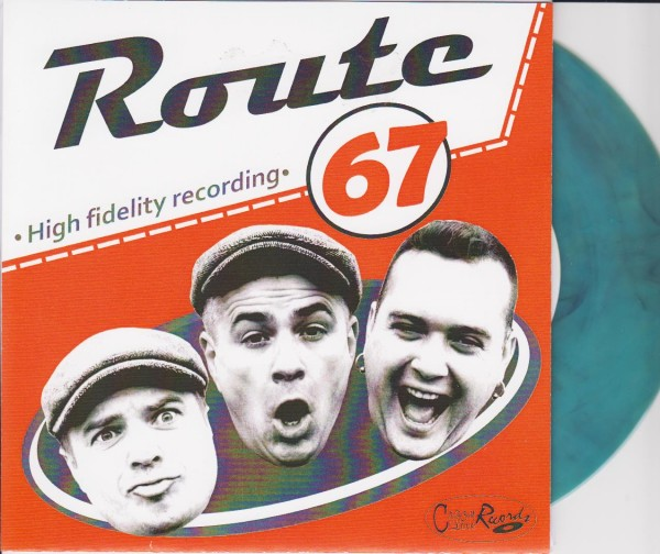 """ROUTE 67 - Long Lonesome Highway 7"""" ltd.GREEN"""