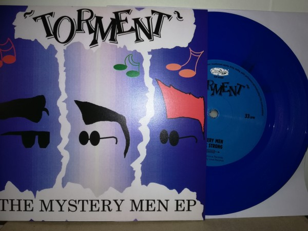 "TORMENT - The Mystery Men EP 7""EP blue ltd."