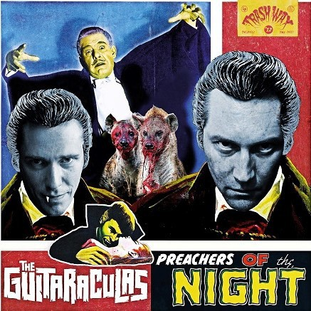 THE GUITARACULAS - Preachers Of The Night LP