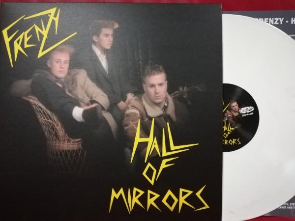 FRENZY - Hall Of Mirrors LP ltd. white