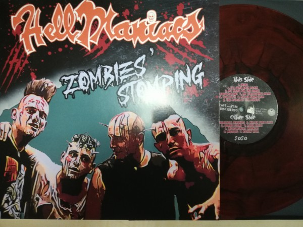 HELLMANIACS - Zombies' Stomping LP ltd. red