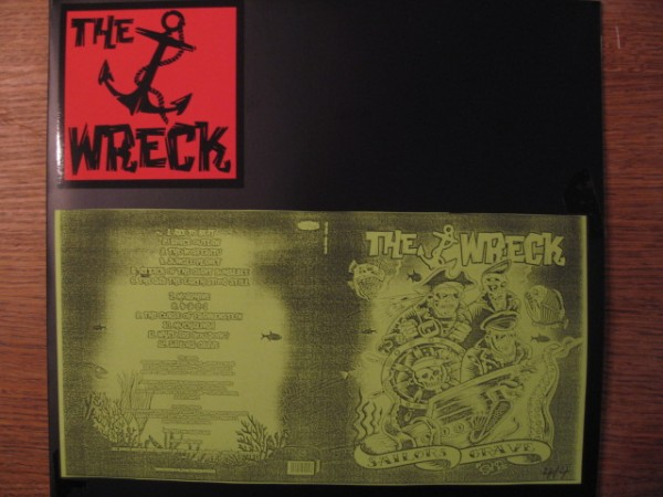 THE WRECK - Sailors Grave 2 x LP test pressing