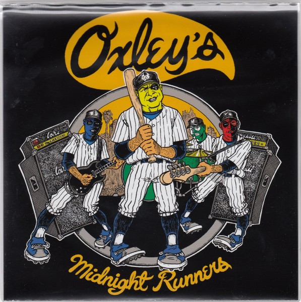 """OXLEY'S MIDNIGHT RUNNERS - Furies 7""""EP"""