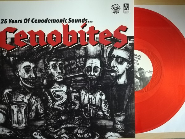 CENOBITES - 25 Years Of Cenodemonic Sounds LP red vinyl