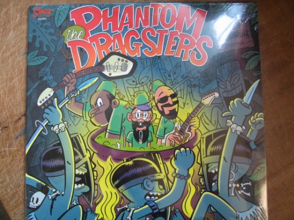 PHANTOM DRAGSTERS - At Tiki Horror Island LP