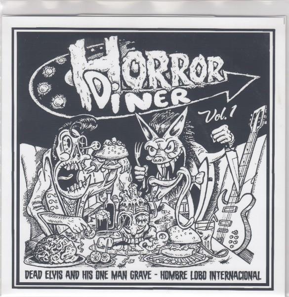 "V.A. - Horror Diner Vol.1 7""EP ltd."