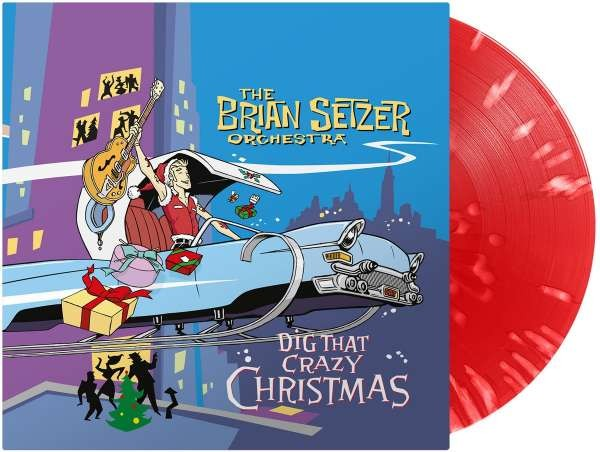 BRIAN SETZER ORCHESTRA - Dig That Crazy Christmas LP ltd.