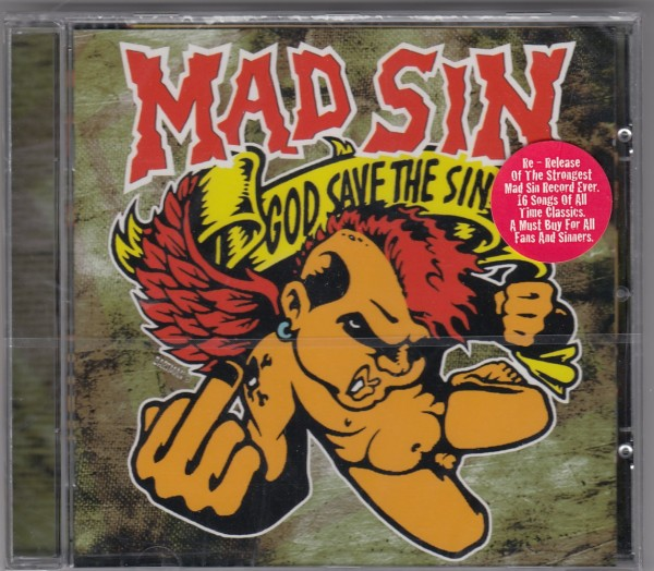MAD SIN - God Save The CD CD