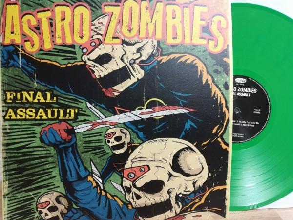 ASTRO ZOMBIES - Final Assault LP green ltd.