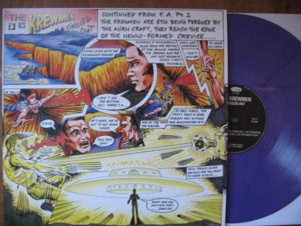 KREWMEN - Singled Out LP ltd. lilac