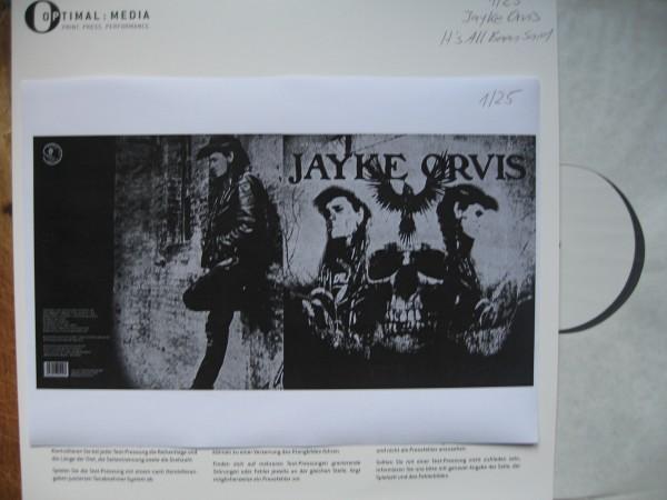 JAYKE ORVIS - It's All Been Said LP test pressing ltd.