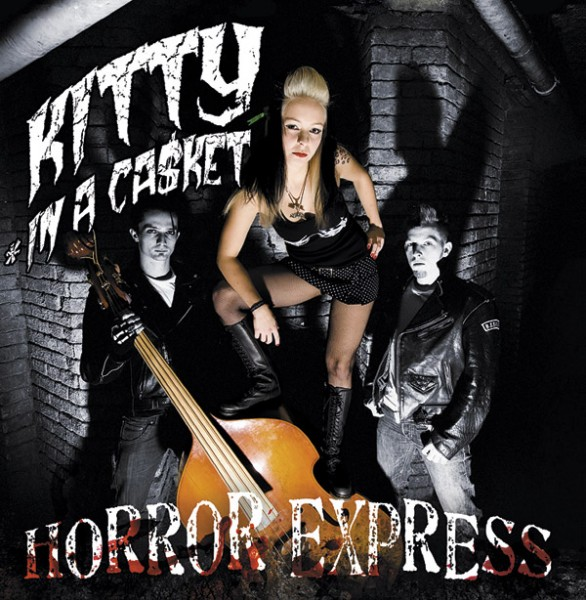 KITTY IN A CASKET - Horror Express LP ltd. green