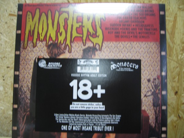 V.A. - 30 Years Anniversary Tribute Album For The Monsters LP+CD