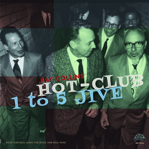 RAY COLLINS' HOT-CLUB - 1 To 5 Jive LP