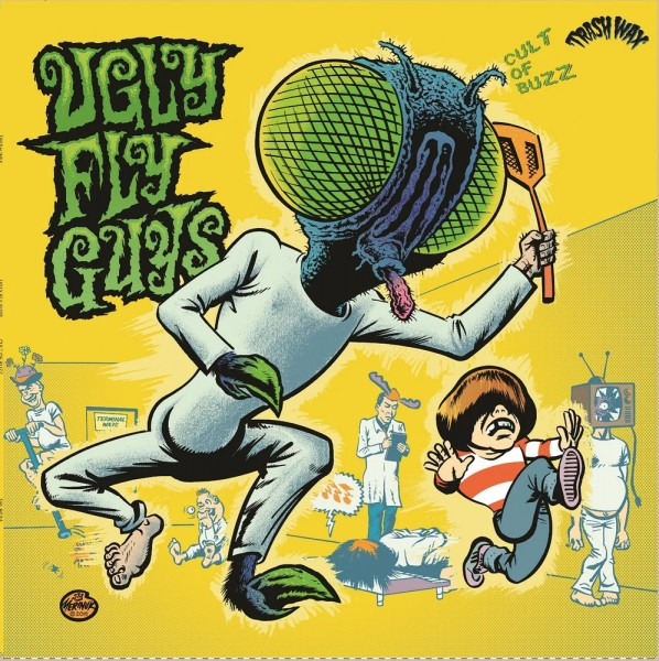 UGLY FLY GUYS - Cult Of Buzz LP