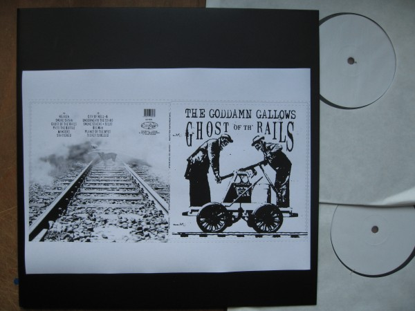 """GODDAMN GALLOWS - Ghost Of The Rails 2 x 12""""LP Test Pressing"""