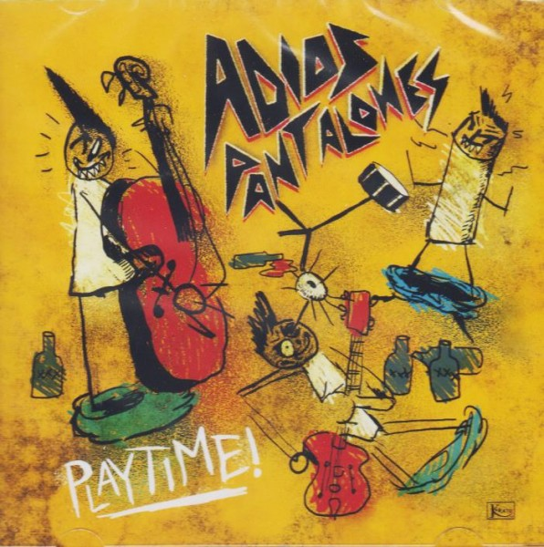 ADIOS PANTALONES - Playtime CD