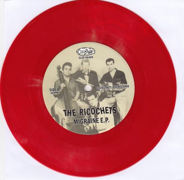 "RICOCHETS - Migraine 7""EP red ltd."