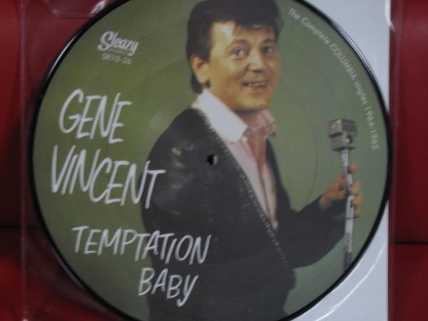 """VINCENT, GENE - Temptation Baby 10""""LP Picture Disc ltd."""