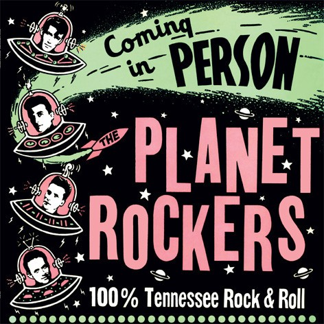 PLANET ROCKERS - Coming In Person LP