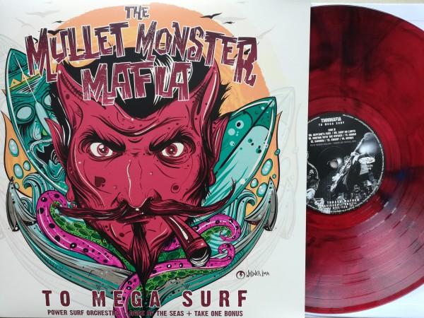 MULLET MONSTER MAFIA - To Mega Surf LP red vinyl