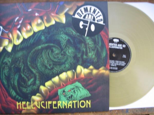 DEMENTED ARE GO - Hellucifernation LP ltd. golden Vinyl