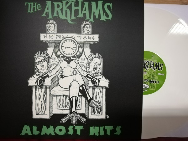 ARKHAMS - Almost Hits LP ltd. white