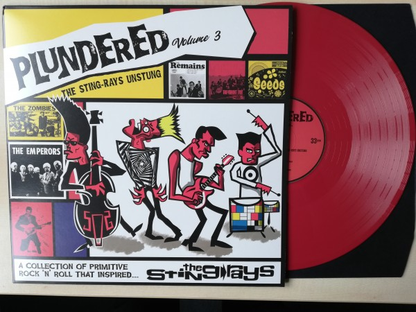 V.A. - Plundered Vol 3. The Sting Rays Unstung LP red
