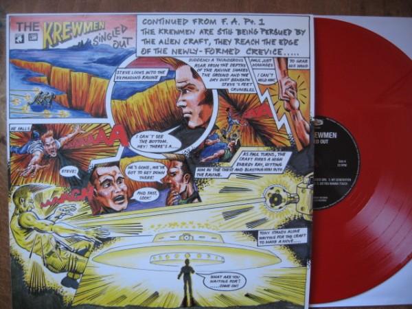 KREWMEN - Singled Out LP ltd. red