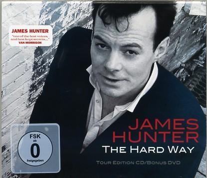 HUNTER, JAMES - The Hard Way CD + DVD