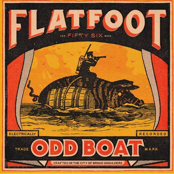 FLATFOOD - Odd Boat LP