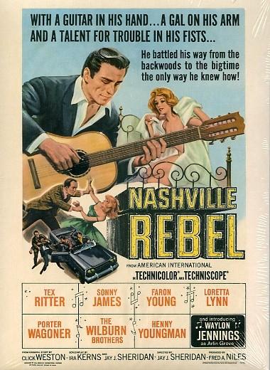 WAYLON JENNINGS - Nashville Rebel DVD