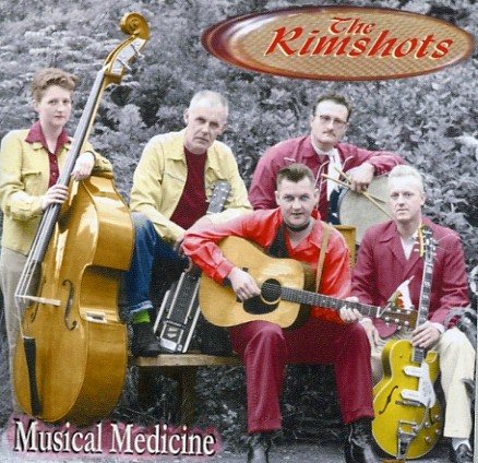 RIMSHOTS - Musical Medicine CD
