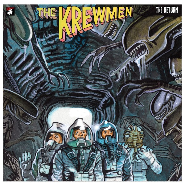 KREWMEN - The Return LP RED ltd.