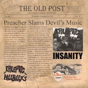 EPILEPTIC HILLBILLY'S - Insanity CD