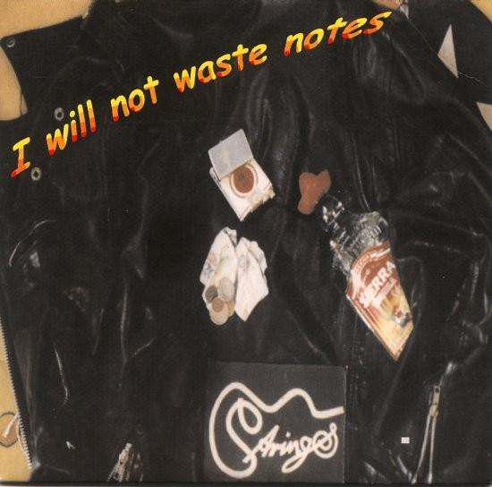 STRINGS-I will not Waste Notes EP-CD