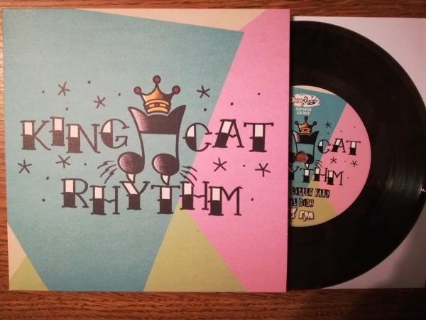 """KING CAT RHYTHM - Same 7""""EP ltd. clear/black"""