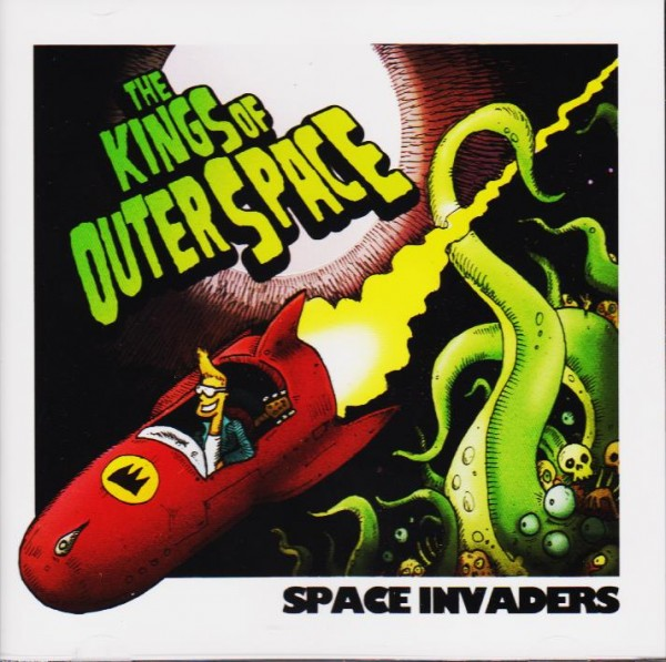 KINGS OF OUTER SPACE - Space Invaders CD