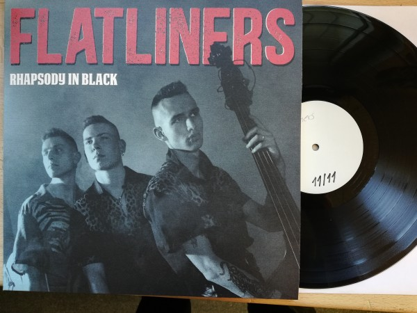 FLATLINERS - Rhapsody In Black LP test pressing ltd.