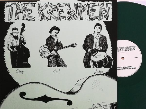 KREWMEN - Klassic Tracks LP GREEN ltd.