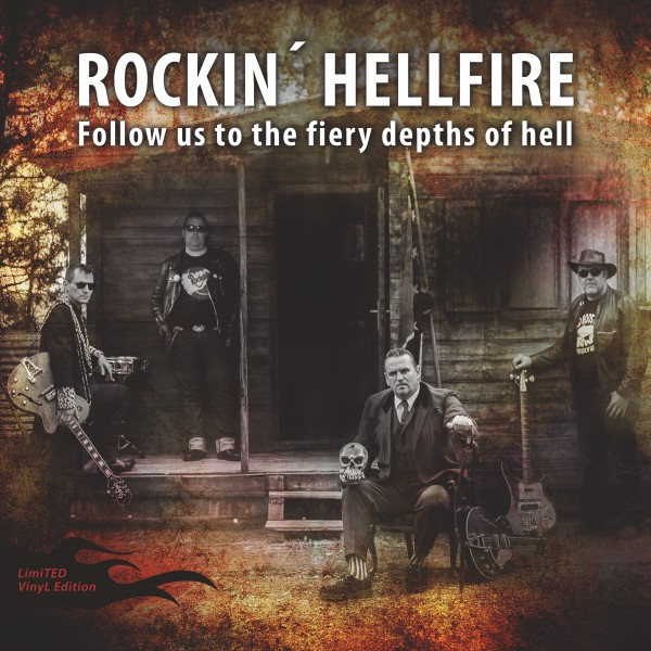 ROCKIN' HELLFIRE - Follow Us To The Fiery Depths Of Hell LP ltd.