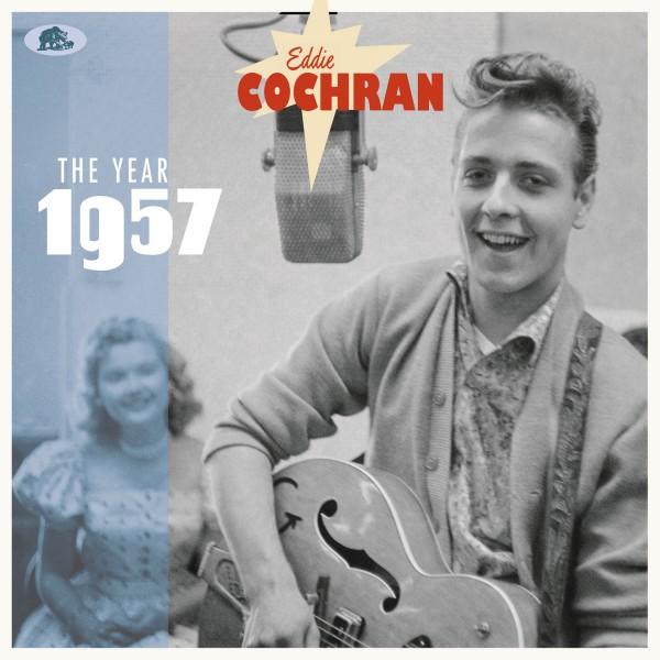 "EDDIE COCHRAN - The Year 1957 2x10""LP"