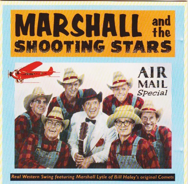 MARSHALL & THE SHOOTING STARS-Airmail Special CD
