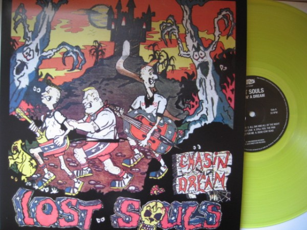 LOST SOULS - Chasin' A Dream LP neon yellow ltd.