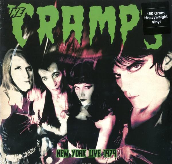 CRAMPS - New York Live 1979 LP