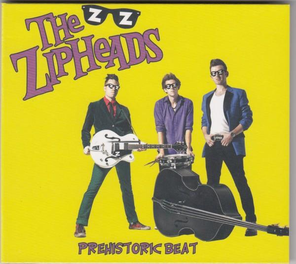 ZIPHEADS - Prehistoric Beat CD