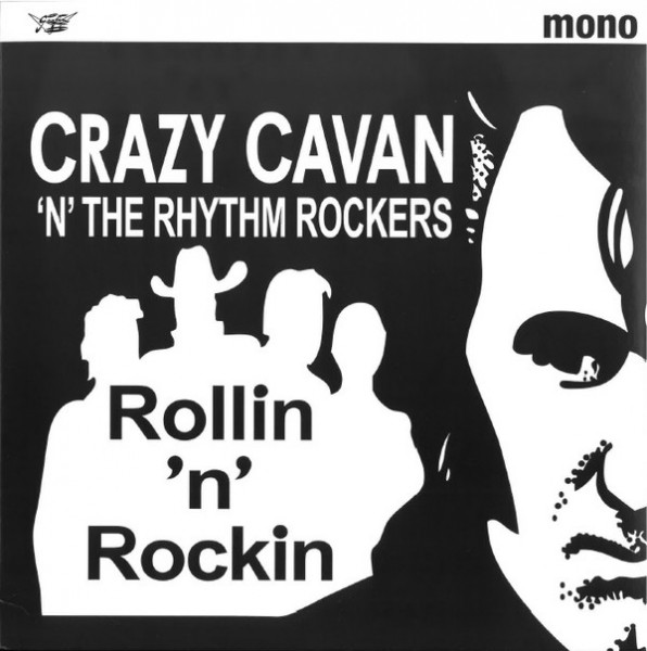 "CRAZY CAVAN & THE RHYTHM ROCKERS - Rollin 'n' Rockin 10""LP"