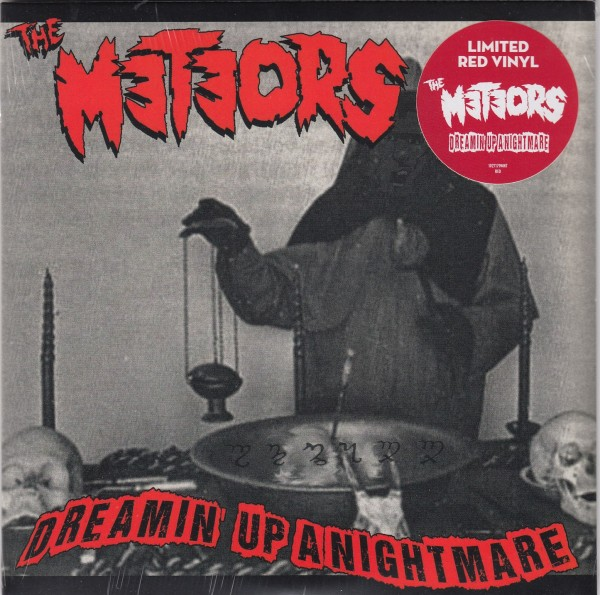 """METEORS - Dreamin' Up A Nightmare 7"""" red"""