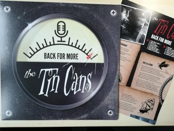 TIN CANS - Back For More LP ltd.