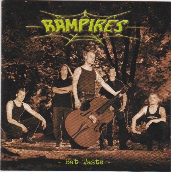 RAMPIRES - Bat Taste CD